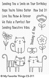 Meow Mix Stamp Set