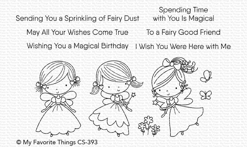 Fairy Good Friends Stamp Set