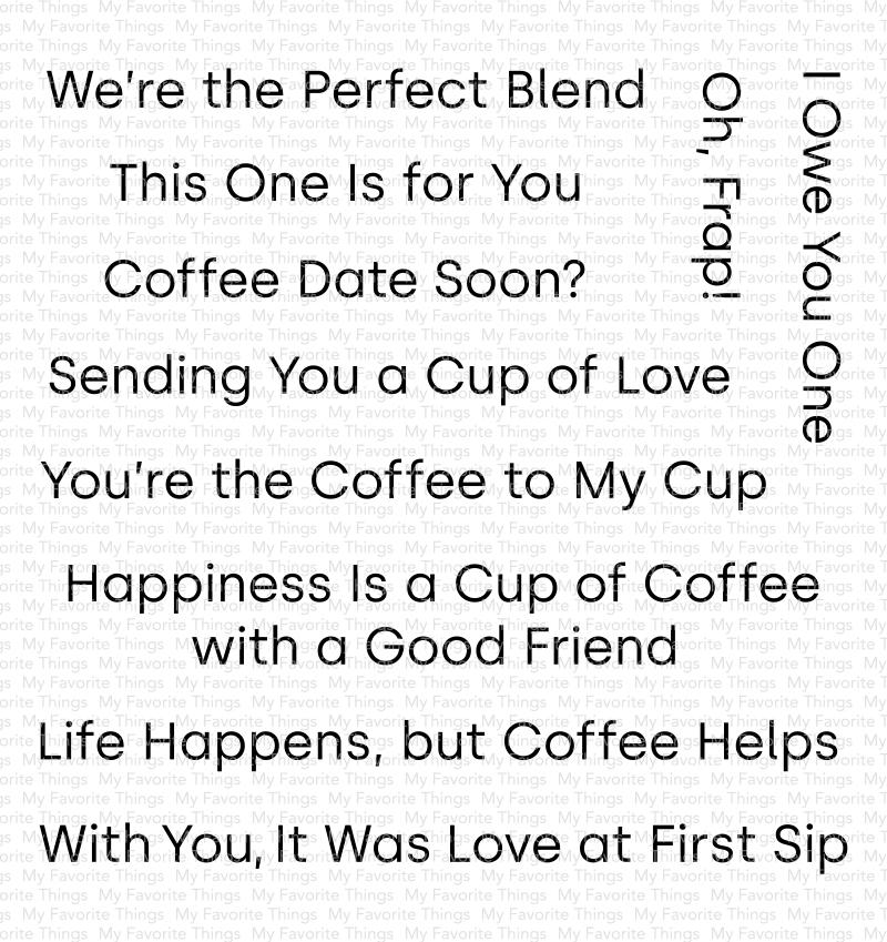 Cup of Love Stamp Set