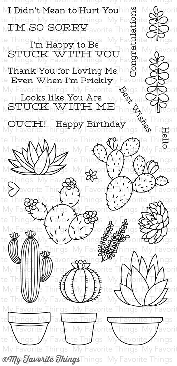 Sweet Succulents Stamp Set