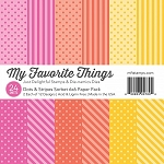 Dots & Stripes Sorbet 6x6 Paper Pack