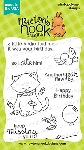 Newton's Birthday Flutter Stamp Set
