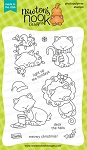 Newton's Holiday Mischief Stamp Set