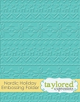 Nordic Holiday Embossing Folder