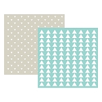 Embossing Folder Triangle