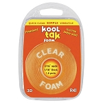 Kool Tak Clear Foam Adhesive Roll
