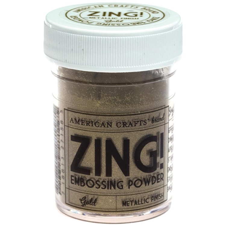 Zing! Embossing Powder Metallic Gold