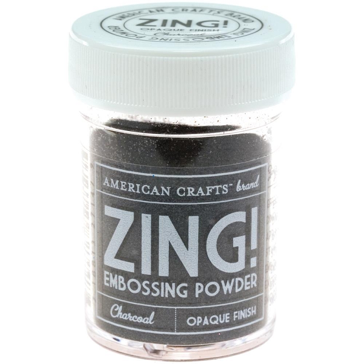 Zing! Embossing Powder Opaque Charcoal