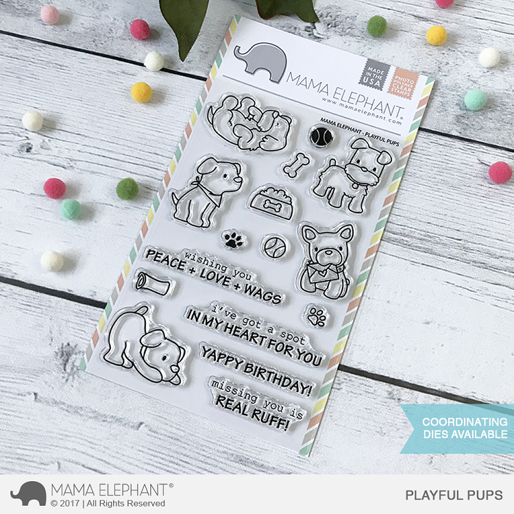 Playful Pups Stamp Set