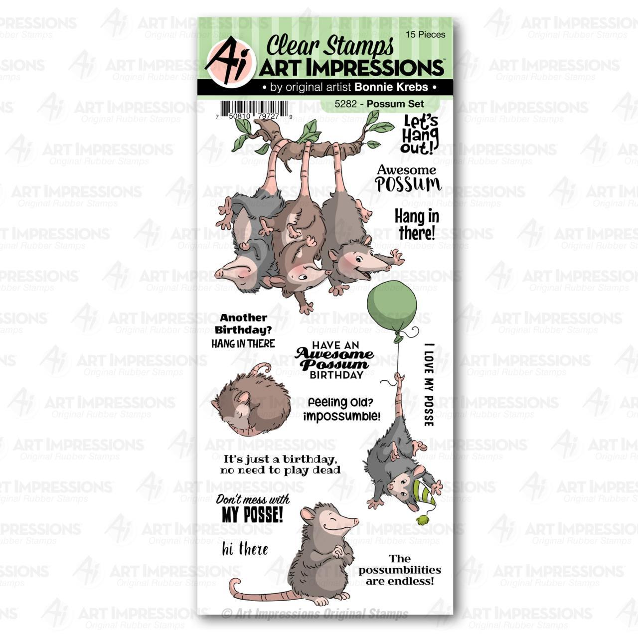 Possum Stamp Set