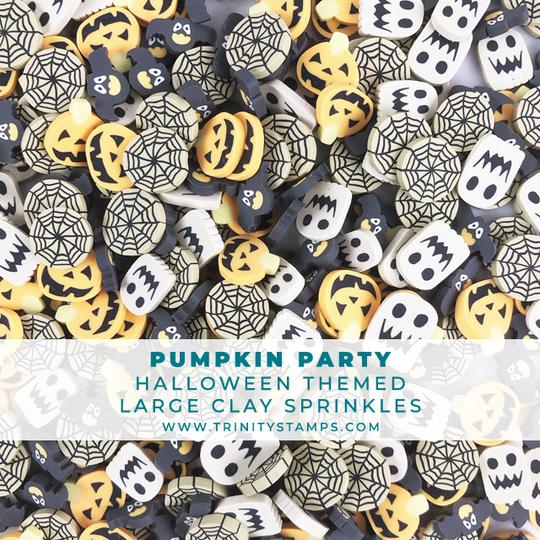 Pumpkin Party Large Clay Sprinkles