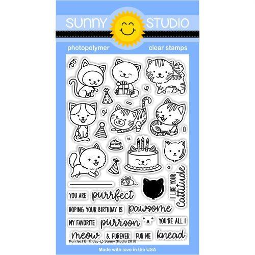 Purrfect Birthday Stamp Set