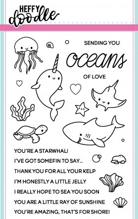 Oceans of Love Stamp Set