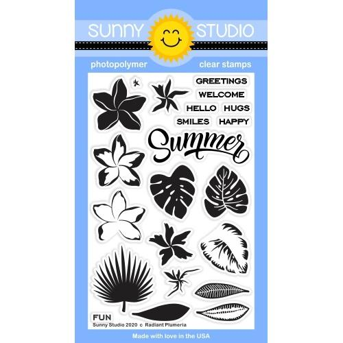 Radiant Plumeria Stamp Set