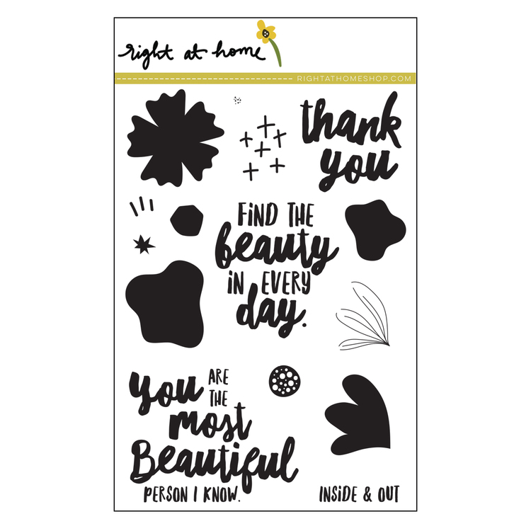 Find the Beauty Stamp Set