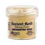 Embossing Powder Enchanted Gold