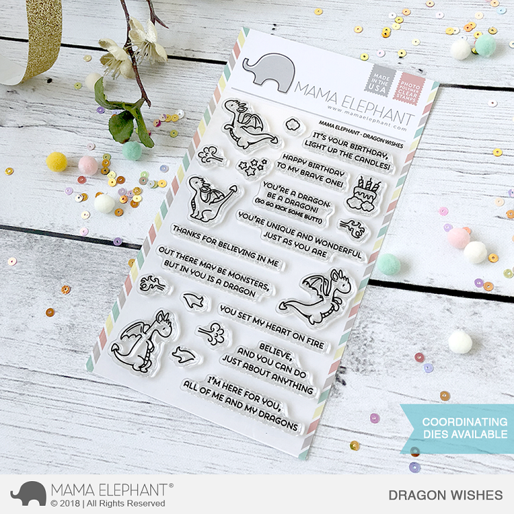 Dragon Wishes Stamp Set