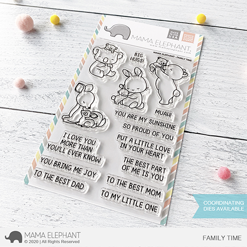 Family Time Stamp Set