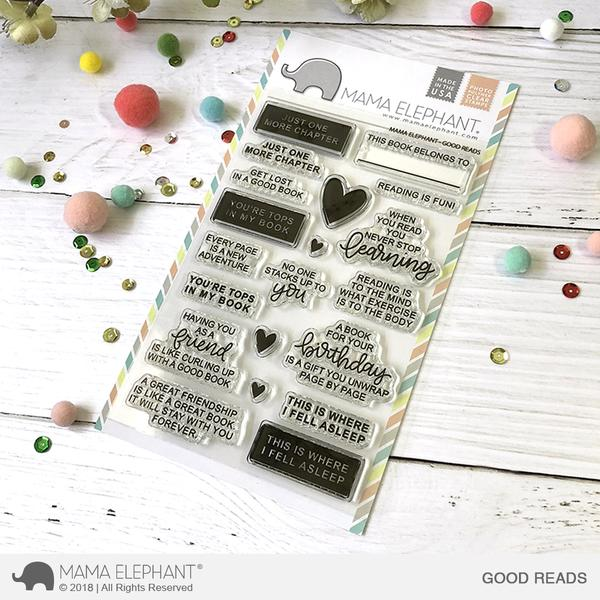Good Reads Stamp Set