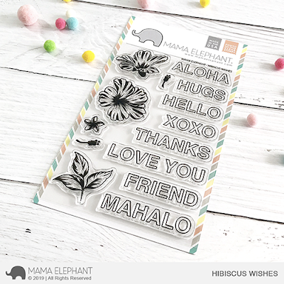 Hibiscus Wishes Stamp Set