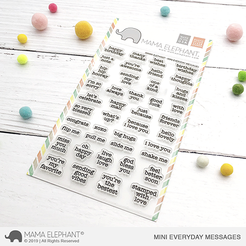 Mini Everyday Messages Stamp Set