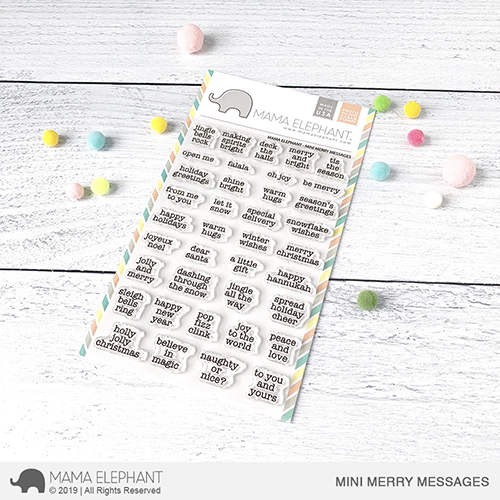 Mini Merry Messages Stamp Set