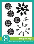 Snowflake Magic Stamp Set