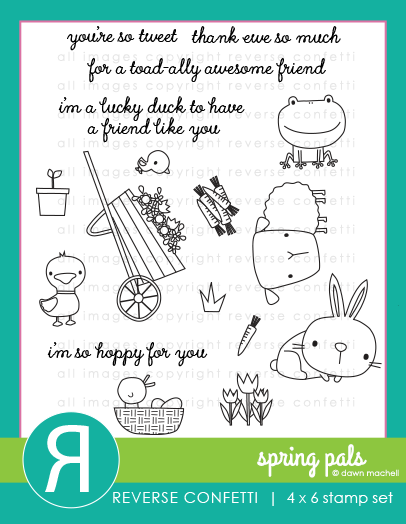 Spring Pals Stamp Set