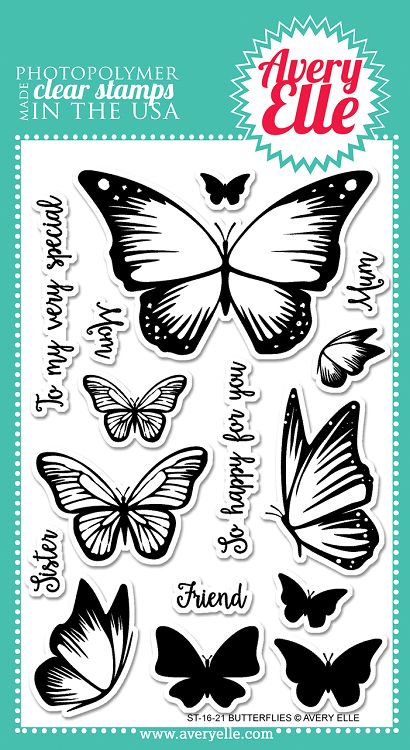 Butterflies Stamp Set