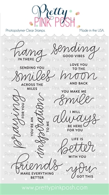 Encouraging Greetings Stamp Set
