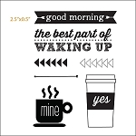 Wake Up Clear Stamp Set