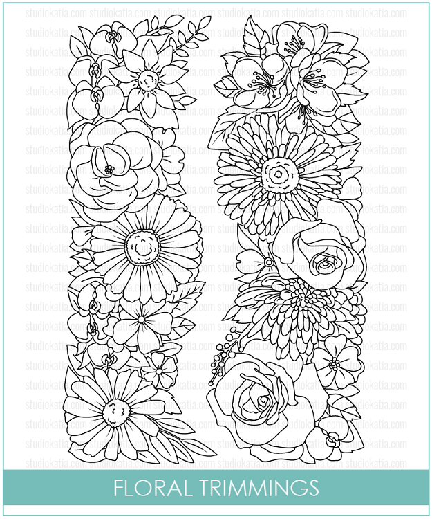 Floral Trimmings Stamp Set