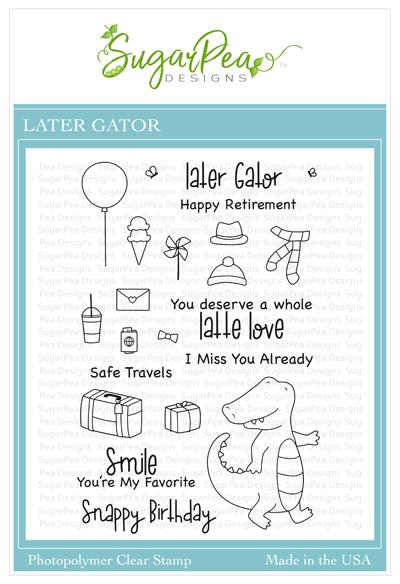 Later Gator Stamp Set