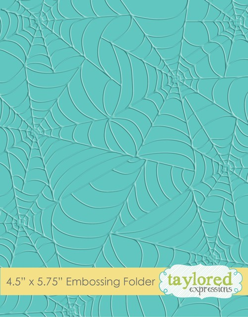 Tangled Webs Embossing Folder