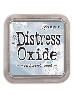 Distress Oxide Ink Pad Weathered Wood