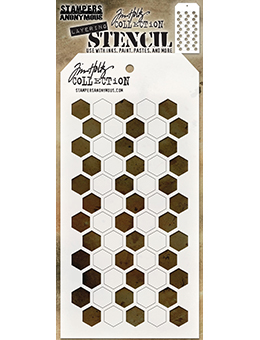 Shifter Hex Layering Stencil