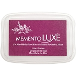 Memento Luxe Lilac Posies Ink Pad