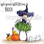 Tiny Townie Willow The Witch Stamp