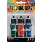 Alcohol Ink 3pk Rustic Lodge