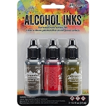 Alcohol Ink 3pk Tuscan Garden