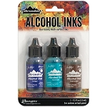 Alcohol Ink 3pk Mariner