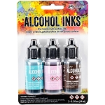 Alcohol Ink 3pk Retro Cafe