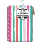 Create 365 Planner Pouch Pink w/Painted Multi Stripe