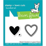 Heart Swatch Stamp & Die