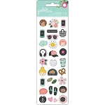 Girl Squad Mini Icons Puffy Stickers