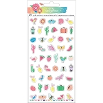 Sunshine & Good Times Mini Icons Puffy Stickers