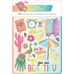 Sunshine & Good Times Holographic Foil Sticker Book