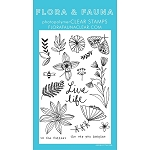 Live Life Wildflowers Stamp Set