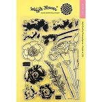 Carnations Stamp Set