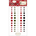 Christmas Enamel Dots